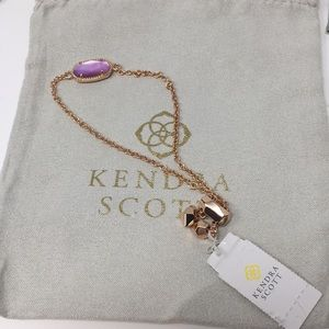 Kendra Scott Elaina Bracelet Rose Gold NWT